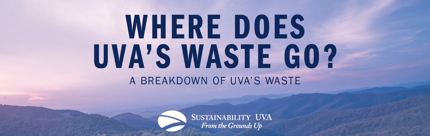 Where does UVA's waste go? A breakdown of UVA's waste.