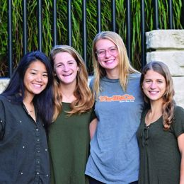 Office for Sustainability Outreach Student Employee team