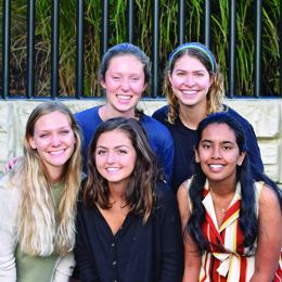 Office for Sustainability Recycling Student Employee team