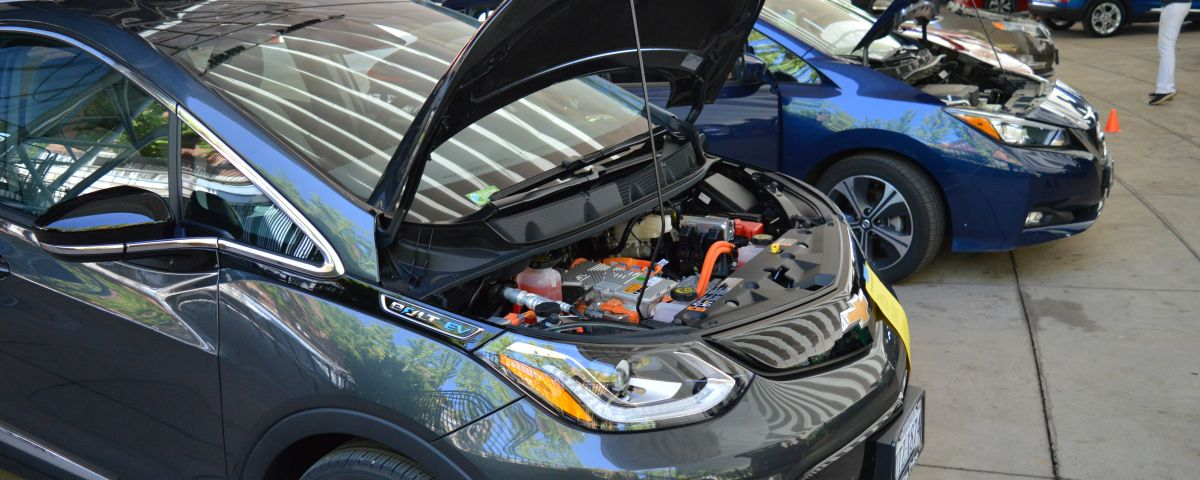 Under the hood of an electric vehicle